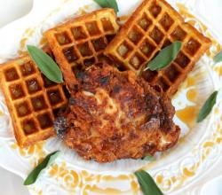 Fried Chicken & Sage Waffles