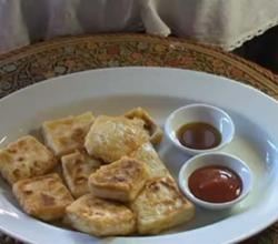 Shallow Fried Tofu