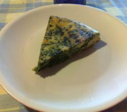 Hominy and Watercress Frittata