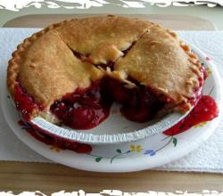 Frosted Cherry Pie