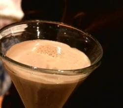 The Froo Froo Espresso-Orange Martini