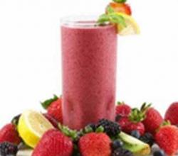 Fruity Soy Yogurt Smoothie