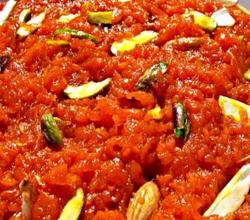 Low Fat Carrot Halwa