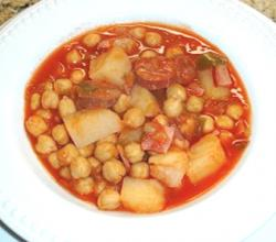 Cuban Sopa De Garbanzos