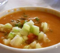 Make ahead Gazpacho