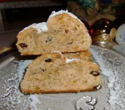 German Quark Christ Stollen ( Fruitloaf )