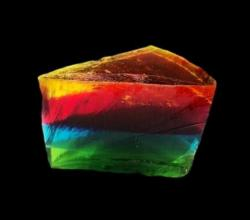 Giant Gummy Rainbow Cake