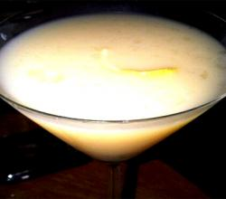Lemon Ginger Gin Martini