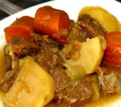 Gingered Beef Stew