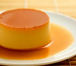 Glazed Caramel Custard