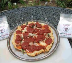 Barbecued Gluten Free Pizza