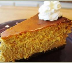 Gluten Free Pumpkin and Cinnamon Cheesecake