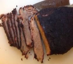 Smoked Brisket 3 on the Weber Kettle