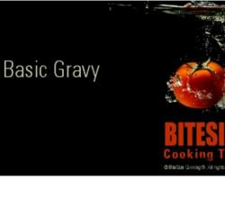 Cooking Tips for Basic Gravy