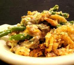 Green Bean Bake With Onion