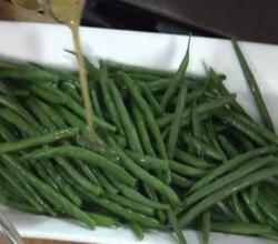 Wegmans Green Beans with Lemon Vinaigrette