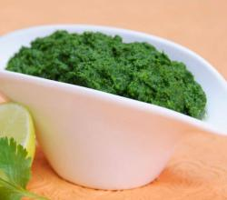Green Chutney by Tarla Dalal