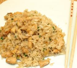 Green Curry Paste With Fried Rice