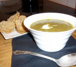 Vegetable Soup And Vegetable Puree