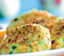 Green Pea and Paneer Tikki (Healthy Kids Snack)