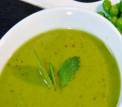 Green Peas Soup - Healthy
