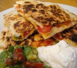 Green Tomato Quesadilla