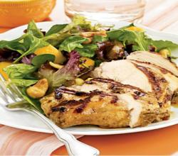 Wegmans Grilled Jamaican Jerk Chicken Breast and Mango & Cashew Salad