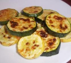 Grilled Marinated Zucchini