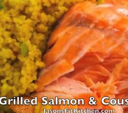 Grilled Salmon and Cous Cous