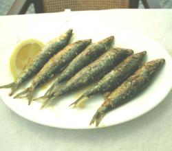 Grilled Sardines In Chilli Oil