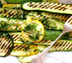 Grilled Yellow Squash with Jalapenos