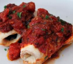 Haddock With Tomato Wine Sauce