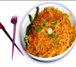 Hakka Noodles or Vegetable Chow Mein- Indo-Chinese