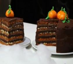 Halloween Layer Cake - Recipe