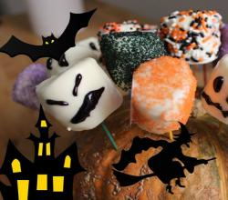 How to make Halloween Marshmallows Monsters