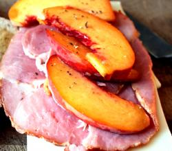Stir Fry Ham & Peaches