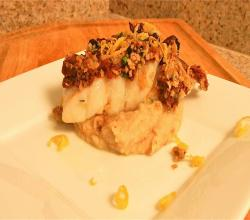 Happy Halibut with Snappy Celeriac Puree