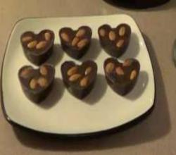 Healthy Valentine's Day Dark Chocolate