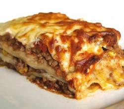 Hearty Sausage Lasagne