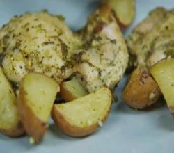 Herbes de Provence Roast Chicken