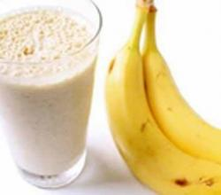 High Protein Peanut Butter Banana Shake