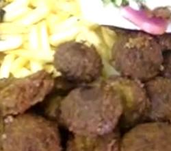Home Made Fried Falafel