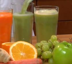 Homemade Fruit and Vegetable Juices