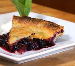 Homemade Blueberry Pie