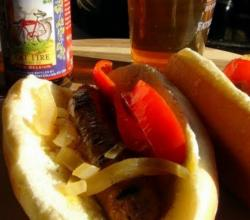 Homemade Brats - Another Game Day Meal on the Weber Grill!