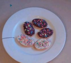 Homemade Kids Easter Egg Biscuits