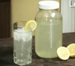 Tasty Homemade Lemonade
