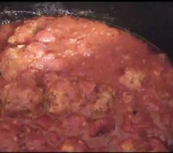 Homemade Meatballs Crockpot