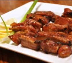Honey Garlic Barbecue Spare Ribs