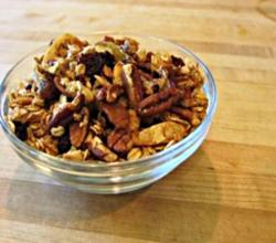 Gluten Free Pecan, Coconut and Honey Granola